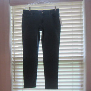 NWT KENNETH COLE REACTION Skinny Crop Jeans Sz 12